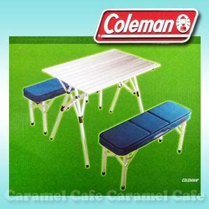 coleman cing table and benches caramelcafe rakuten global market folding table