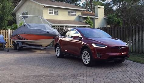 Tesla Model X Towing Capacity Can A Tesla Model X Really Tow 5 000 Pounds