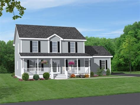 brick farmhouse plans house plan two story brick house plans with front porch