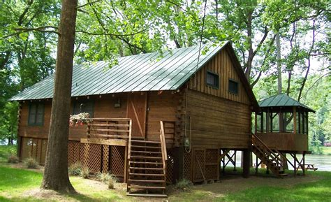 Cabin In Shenandoah by Shenandoah Shores Riverfront Log Cabin