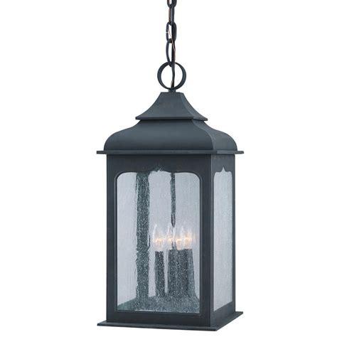 colonial outdoor lighting fixtures troy lighting henry 4 light colonial iron outdoor