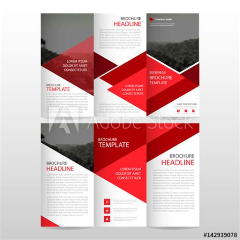 card template 3 vertical 2 horizontal triangle corporate business card name card template