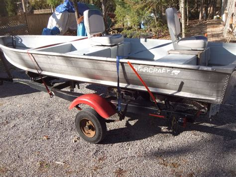 boat trailer accessories 14 aluminum boat starcraft with shorelander trailer