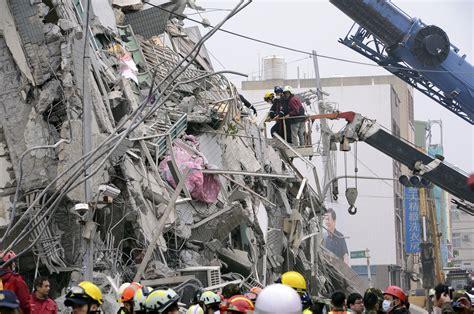Taiwan Search Tainan Taiwan 100 Missing 14 Dead As Strong Quake Rattles Taiwan