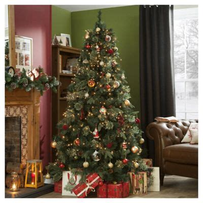 christmas tree stand tesco buy 7ft luxury tree regency fir from our trees range tesco