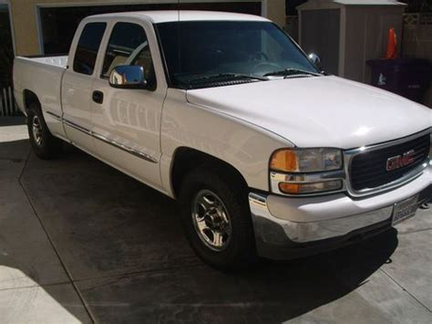 how can i learn about cars 2001 gmc sierra 3500 navigation system purchase used 2001 gmc sierra 1500 sle extended cab pickup 4 door 4 8l in long beach california