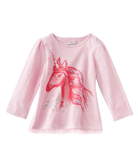 Kaos Dress Anak Printing Unicorn Pink pink unicorn kicau kecil