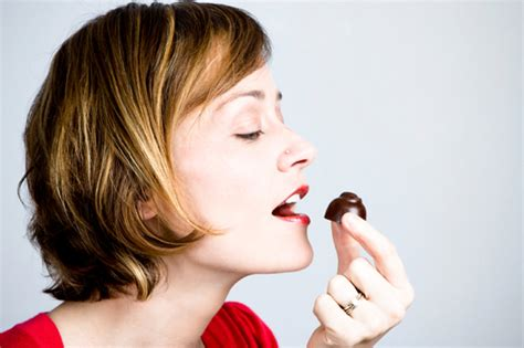 eats chocolate telling not to eat chocolates tempts them to indulge more topnews