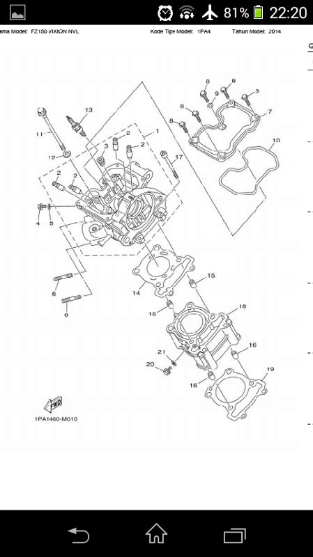 Spare Part Yamaha Vixion Nvl free parts catalog reader yamaha vixion nvl fz150 2014 apk