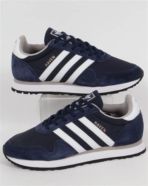 Adidas Haven | adidas haven trainers navy white originals shoes runners