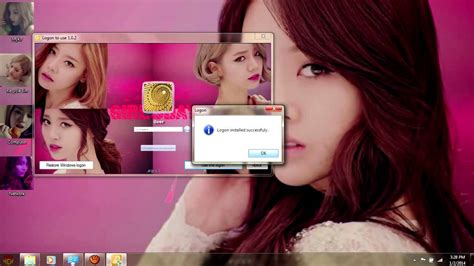 theme for windows 7 kpop girls day something kpop windows 7 theme youtube
