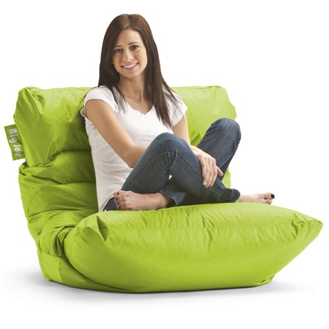 beanbag armchair amazon com big joe roma bean bag chair spicy lime beanbag chairs for teens cool