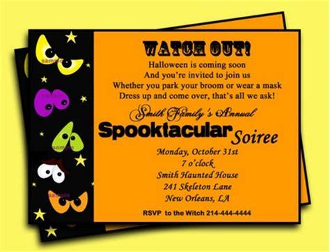 invitation ideas for halloween party pics photos creative halloween invitation wording