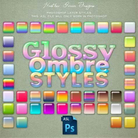 glossy pattern photoshop glossy ombre photoshop layer styles graphics other luvly
