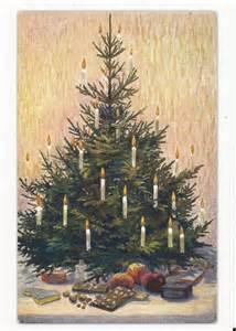 alte weihnachtskarte weihnachtsbaum la cartolina m 252 nchen