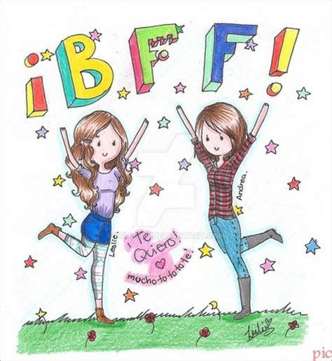 imagenes tumblr para dibujar de amigas 34 im 225 genes de mejores amigas para dibujar mejores amigas