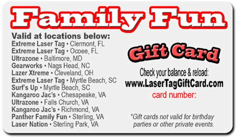 Do Mcdonalds Gift Cards Expire - purchase a laser tag gift card valid at any of our stores in va md nc sc and ohio