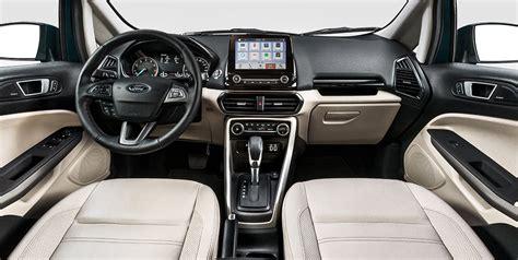Brazilian Interior Design by Brazilian Spec 2018 Ford Ecosport Facelift Dashboard