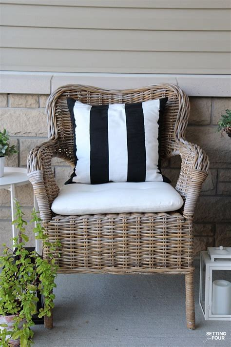 Wicker Armchair Design Ideas 10 Front Porch Decor Ideas To Add To Your Home Page 3 Of 3 Setting For Four