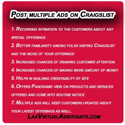 I Posted An Ad On Craigslist This Morning To Rent by How To Post Ads On Craigslist And Their Benefits