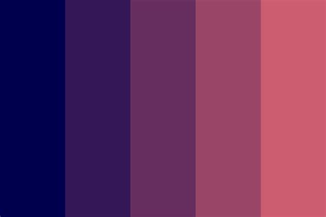 ode to sleep color palette