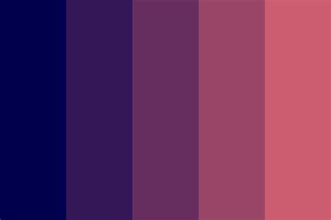 sleep color ode to sleep color palette