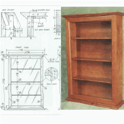 bookshelf woodworking plans diy bookcase plan diy