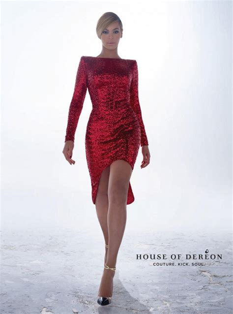 House Of Dereon snapshot beyonce for house of dereon fall winter 2013