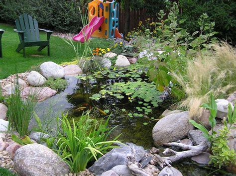 Beautiful garden pond ideas   Orchidlagoon.com