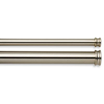 bed bath and beyond double curtain rod double curtain rods bed bath and beyond curtain