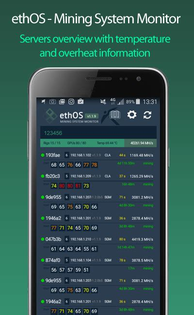 system monitor apk ethos mining system monitor 2 0 5 apk android tools apps