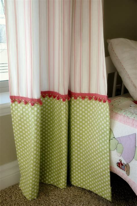 girls curtain rod 1000 ideas about pom pom curtains on pinterest curtains