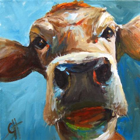 painting for hello cow painting