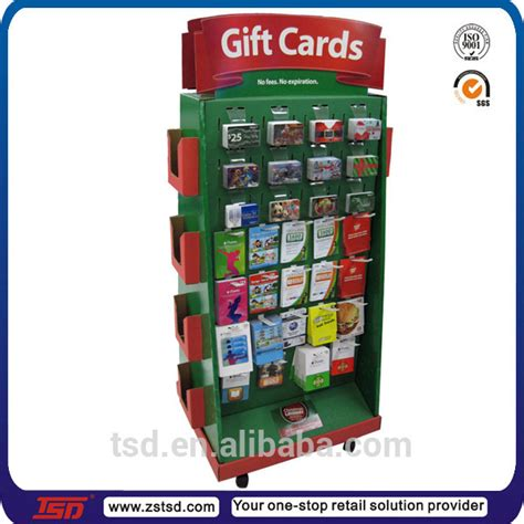 Gift Card Display Rack by Tsd W835 Custom Rotating Greeting Card Wholesale Display