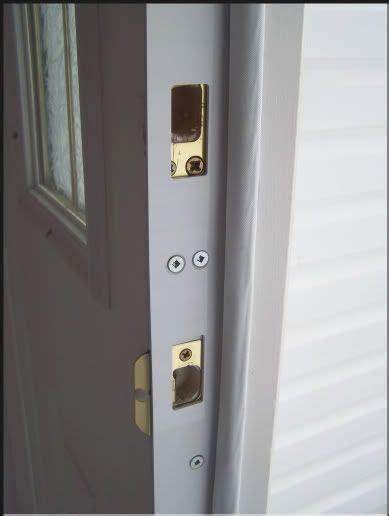 Door Reinforcement Plate by Entrance Doors Metals And Oven Glove On