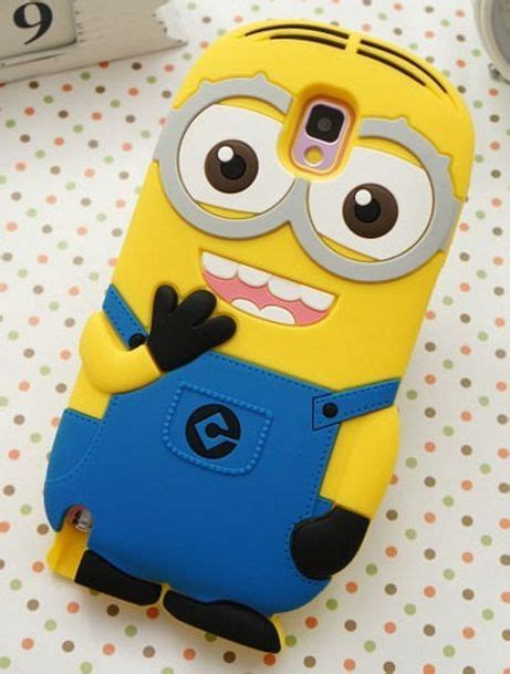 Termurah Minion Despicable Me For Galaxy S5 Tipe B galaxy note 4 3 s6 s5 comical two eyed despicable me