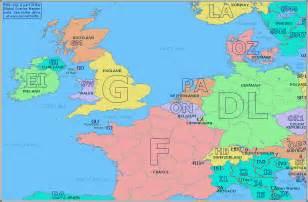 Western European Map by Europe Western Map
