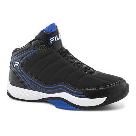 fila basketball shoes review fila s breakaway 7 black blue basketball shoe shoes