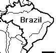 coloring page map of brazil brazil map to label