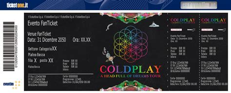 coldplay tickets biglietti coldplay coldplay tickets ticketone