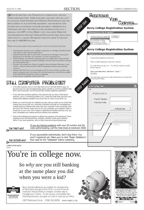 layouting newspaper college newspaper layout and design sle it help