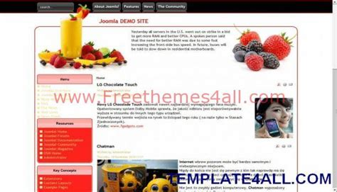 Dynamic Flash Website Templates Free Download Flash Template 283 Metro My Restaurant Fruits Dynamic Flash Website Templates Free