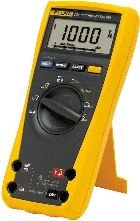 Multimeter Fluke fluke 175 multimeter 175 digital 6000 counts bei