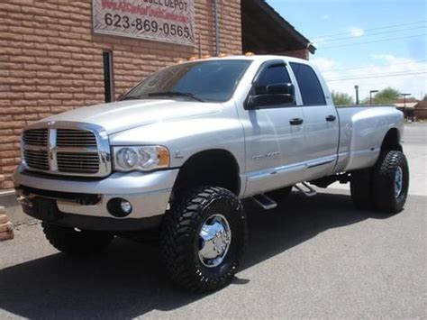 purchase   dodge ram  quad cab dually lifted