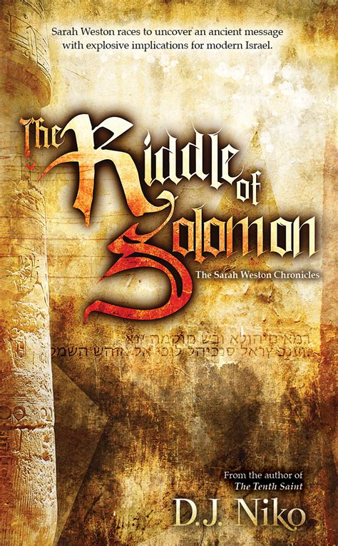 adventure picture books the riddle of solomon by d j niko offers