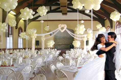 Balloon Decoration For Wedding Reception by Exle Wedding Decoration Balloon Wedding Decorations