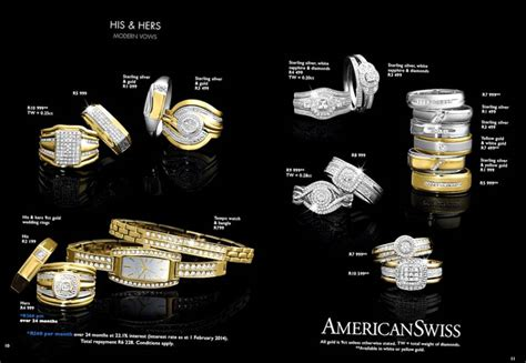 American Swiss Wedding Rings Brochure by American Swiss Cheapest Ring For Engagement