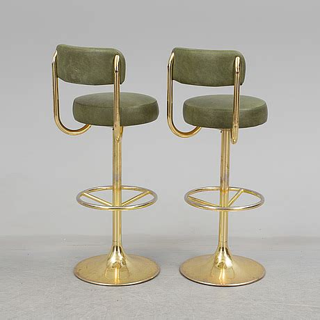 Set Of Six Bar Stools by A Set Of Six Bar Stools By Johanson Design Markaryd