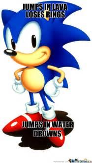 Sonic The Hedgehog Meme - sonic the hedgehog logic by shinycharizard meme center