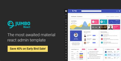 React Material Bootstrap 4 Admin Template Download React Material Bootstrap 4 Admin Template Free React Ui Templates